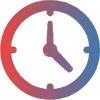 clock small grad